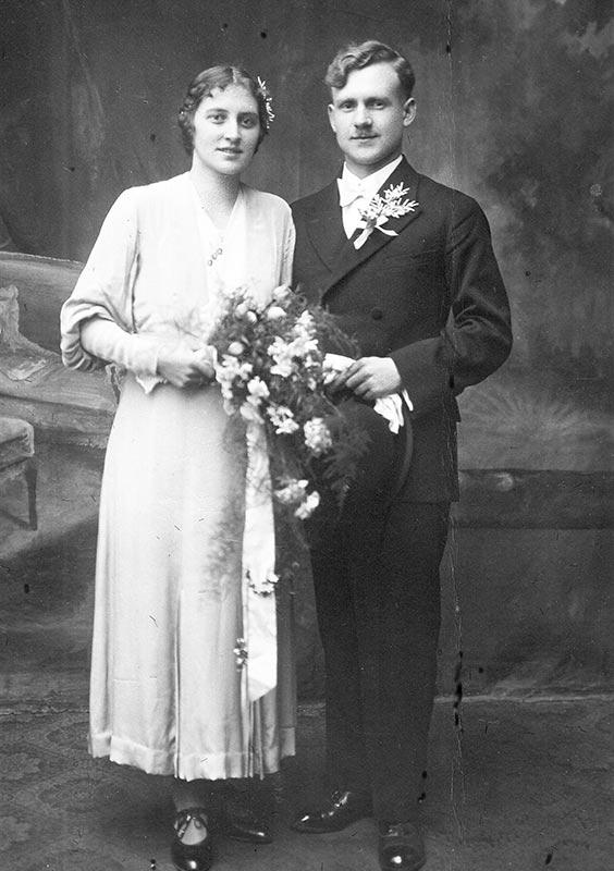 Großeltern Gundacker