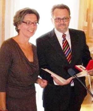 Verleihung Goldenes Verdienstzeichen der Republik Österreich