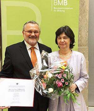 Verleihung Berufstitel Professor